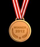 Vencedor 2012 ilustração royalty free