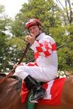 Vencedor Calvin Borel de Kentucky Derby Imagens de Stock Royalty Free
