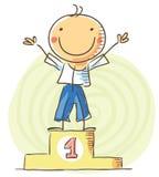 Vencedor da competição ilustração stock