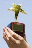 Vencedor da concessão Fotografia de Stock