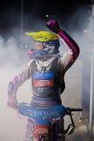 Vencedor da raça Grigorij Laguta Imagens de Stock