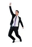 Vencedor do homem de negócio Fotografia de Stock Royalty Free