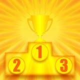 ø vencedor do lugar Imagem de Stock Royalty Free