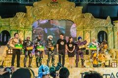 Vencedor do mundo Cosplay 7 fantásticos de Oishi Foto de Stock
