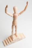 Vencedor (gesto de vencimento) Imagem de Stock