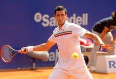 Vencedor rumano Hanescu del jugador de tenis Imagen de archivo libre de regalías