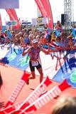 Vencedor Stephen Bayliss de Ironman (Reino Unido) Imagens de Stock