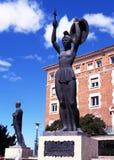 Vencedora statue, Teruel, Spain. Royalty Free Stock Images