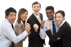 Vencedores 1 do negócio Fotos de Stock