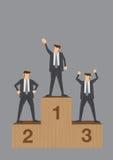 Vencedores da ilustração conceptual do vetor da competição do negócio ilustração do vetor