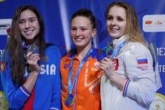 Vencedores do copo de Salnikov Imagem de Stock Royalty Free