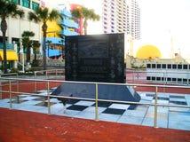 Vencedores 500 do monumento de Daytona Beach Imagens de Stock