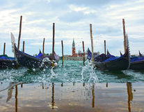 Vencie morning lagoon, Venice, Italy Royalty Free Stock Photo