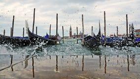 Vencie morning lagoon, Venice, Italy Stock Image
