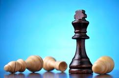 Vencimento na xadrez Foto de Stock