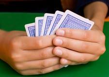 Vencimento nos cartões Foto de Stock
