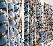Venda óculos de sol Foto de Stock