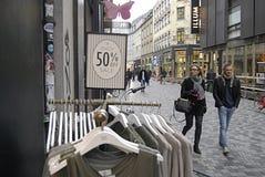 a venda continua no ano novo 2014 Fotos de Stock