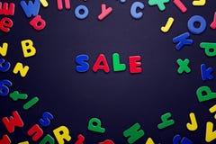Venda da inscrição Foto de Stock Royalty Free