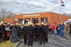 Venda da lama de Amish para beneficiar a empresa de fogo imagem de stock royalty free