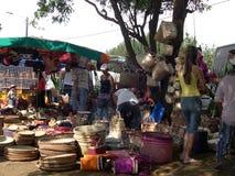 Vendedor do saco Imagem de Stock