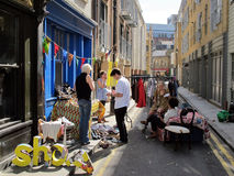 Venda de garagem Londres Imagem de Stock Royalty Free