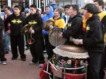 Venda de la música de Chinatown Fotografía de archivo libre de regalías