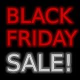 Venda de promoção de néon do sinal vermelho da venda imagens de stock royalty free