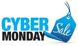 Venda de segunda-feira do Cyber Fotografia de Stock Royalty Free
