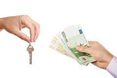 Venda/deixando bens imobiliários Imagem de Stock Royalty Free