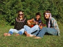 Venda del Hippie Fotografía de archivo