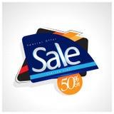 Venda do ícone e oferta especial 50% fora Ilustração do vetor Fotos de Stock