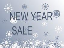 Venda do ano novo Imagens de Stock