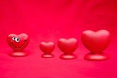 Venda do dia de Valentim Fotografia de Stock Royalty Free