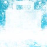 Venda do inverno da neve Imagens de Stock Royalty Free