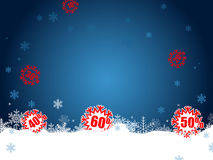 Venda do Natal Imagem de Stock Royalty Free