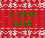 Venda do Natal Fotografia de Stock Royalty Free