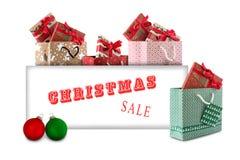 Venda do Natal imagens de stock