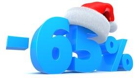 Venda do Natal Imagem de Stock