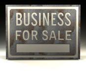 Venda do negócio do sinal da informação Foto de Stock Royalty Free