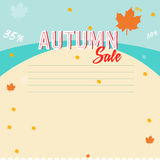 VENDA do outono Imagem de Stock Royalty Free