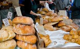 Venda do pão Foto de Stock Royalty Free