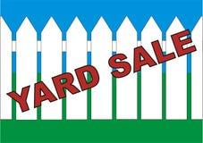 Venda do quintal imagens de stock royalty free