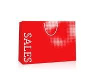 Venda do saco de compras ilustração royalty free
