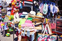 Venda dos chapéus Fotografia de Stock Royalty Free