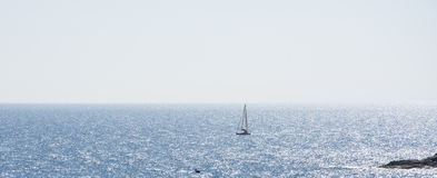 Venda em um mar Fotografia de Stock Royalty Free