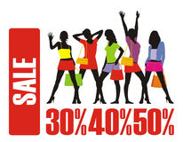 A venda grande 3 Fotos de Stock Royalty Free