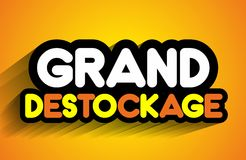 Venda grande Foto de Stock