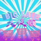 Venda grande colorida Foto de Stock Royalty Free