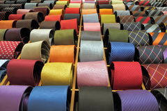 Venda italiana dos laços de seda Imagem de Stock Royalty Free